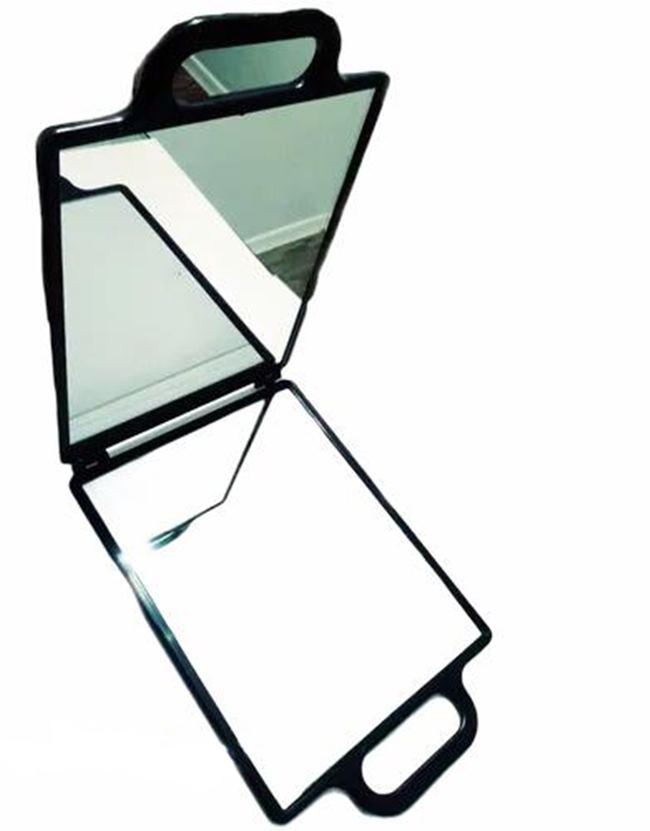Espelho De Mão Cabeleireiro Salão De Beleza Portátil 74x25cm