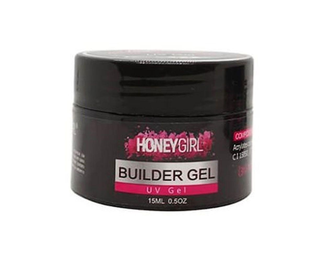 Gel Clear Transparente Uv Honey Girl Builder Gel 15ml