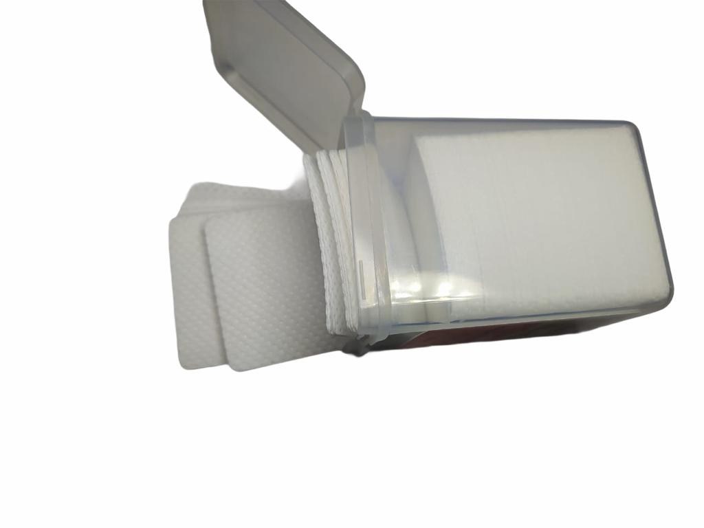 Kit Com 200 Lenços Para Limpar Bico De Cola Extensão De Cílios