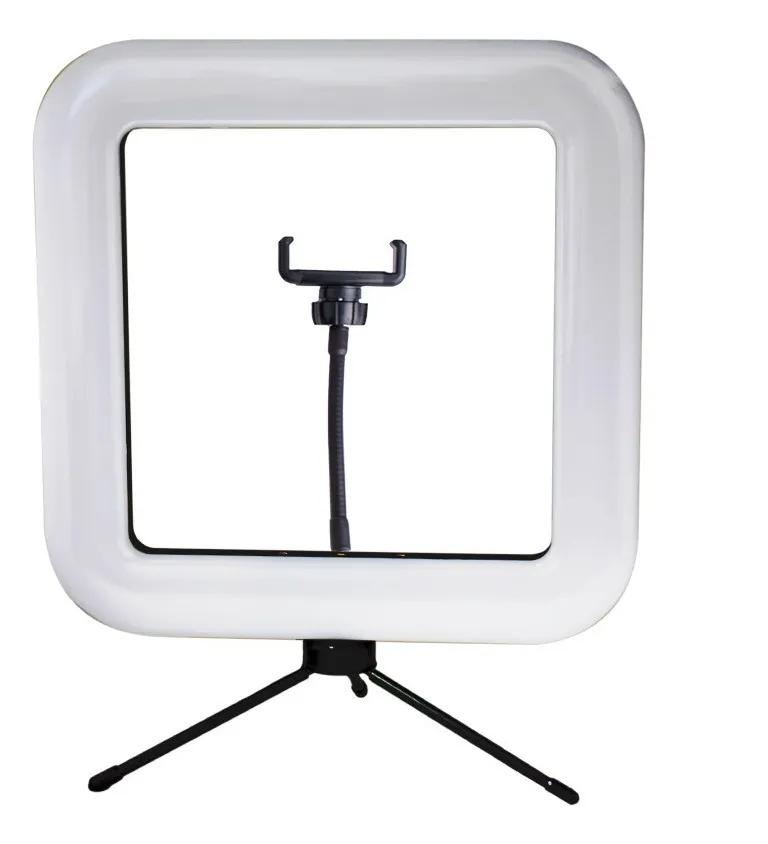 Kit Iluminador Led Ring Light Tripé Suporte Celular Square