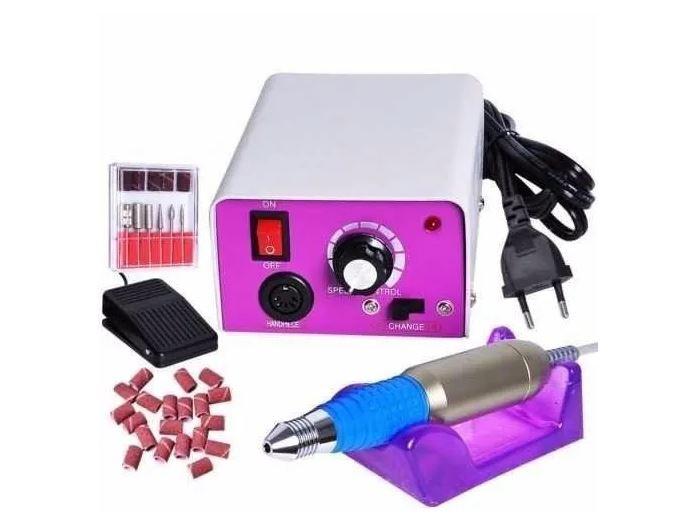 Lixa Elétrica De Unha Profissional 25.000 Rpm Bivolt