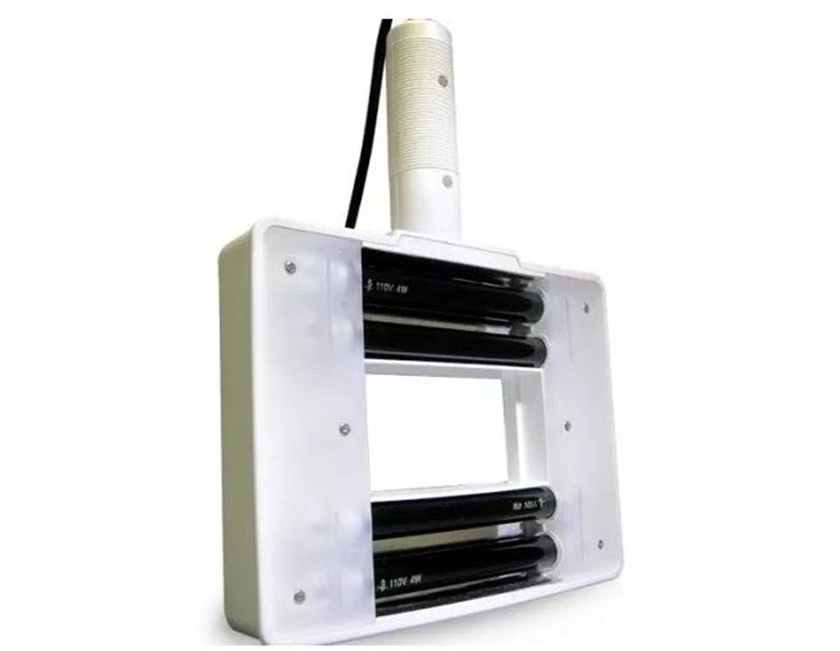 Lupa De Mão Standard Estética Quadrada Luz Wood Estek 220V