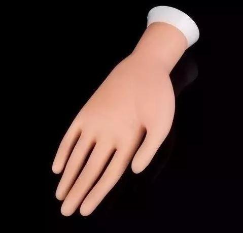 Mão Postiça Treino Manicure Dedo Postiço Unha Gel Acrigel Fibra
