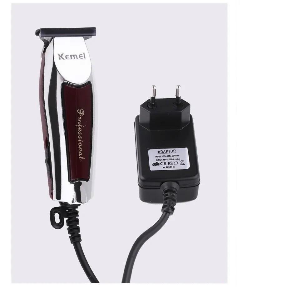 Maquina Corte Profissional Para Acabamento Bivolt Kemei Km9162