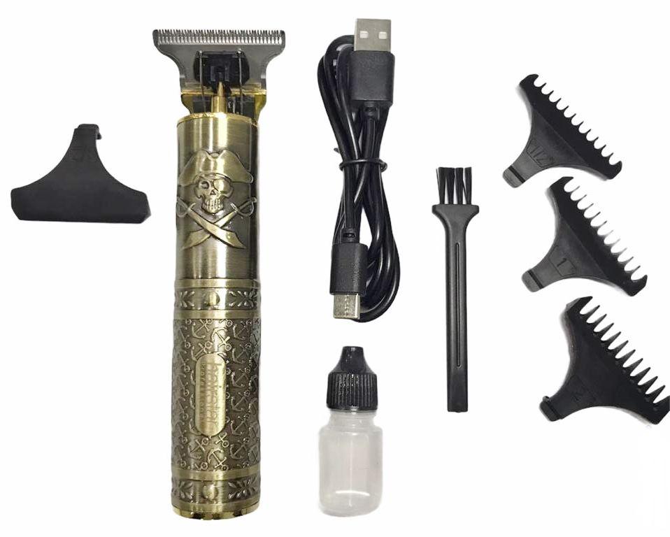 Máquina De Acabamento Hairstar KM-203 + Escovinha De Disfarce Hairdo