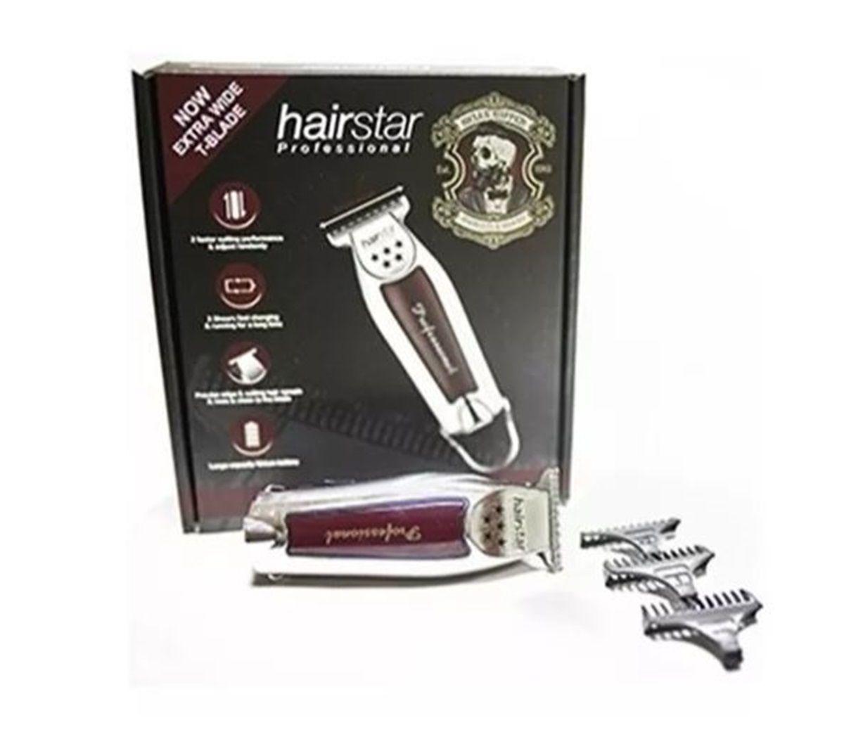 Maquina De Acabamento Para Cabelo E Barba Bivolt Hairstar