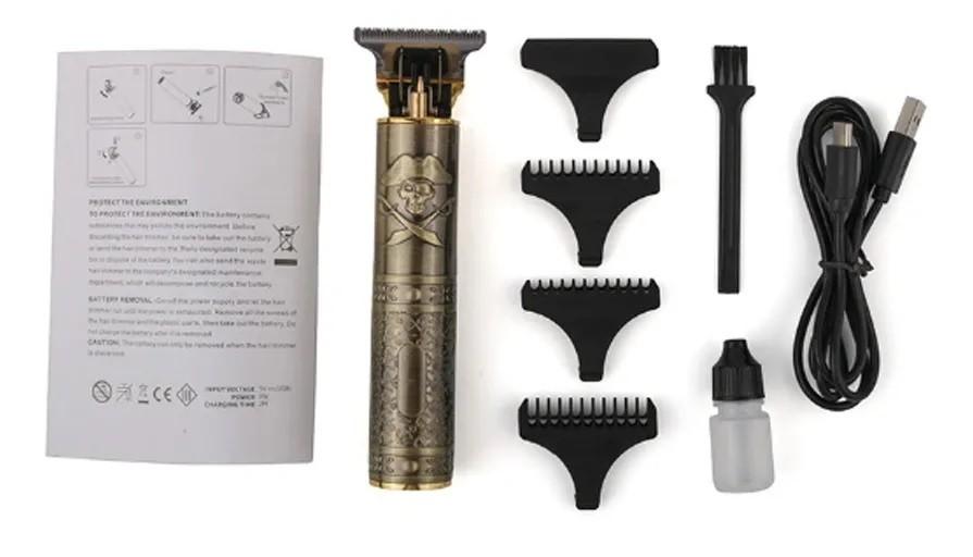 Maquina De Acabamento Trimmer Para Cabelo E Barba Bivolt Hairstar KM 203