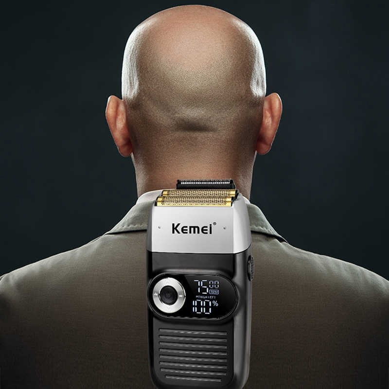 Máquina De Cortar Cabelo E Barbeador Kemei Km-2026