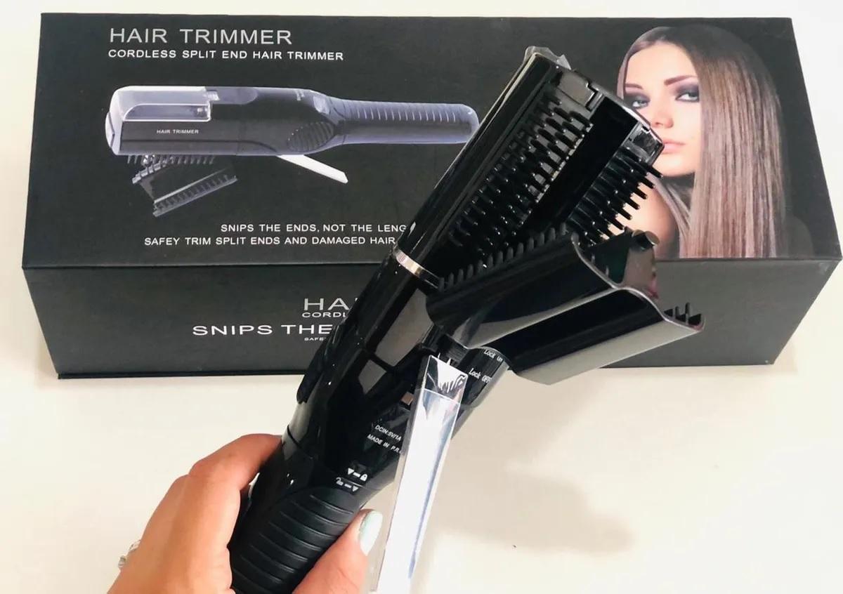 Maquina De Corte Bordado Preto Hair Trimmer Bivolt