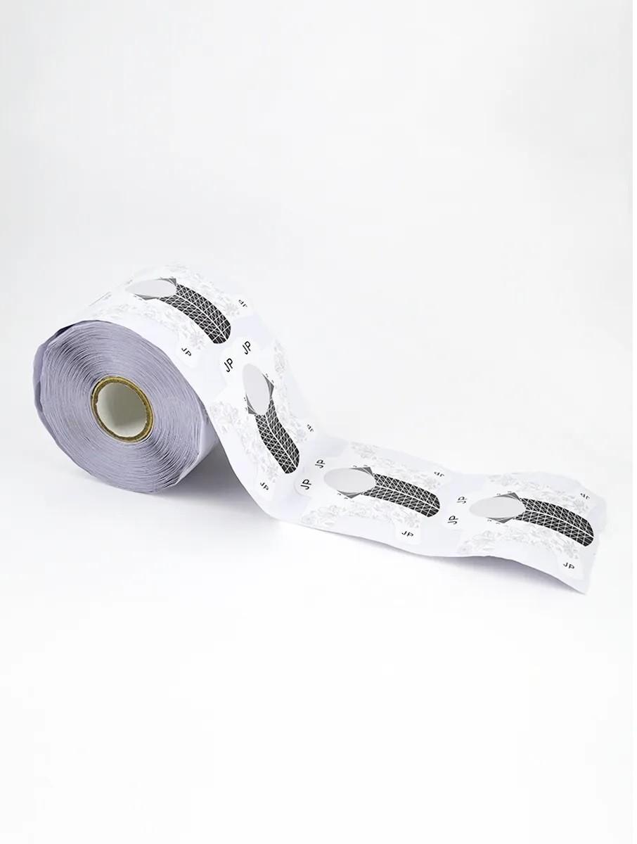 Molde Adesivo De Papel Alongamento Stiletto Unhas Gel Fibra