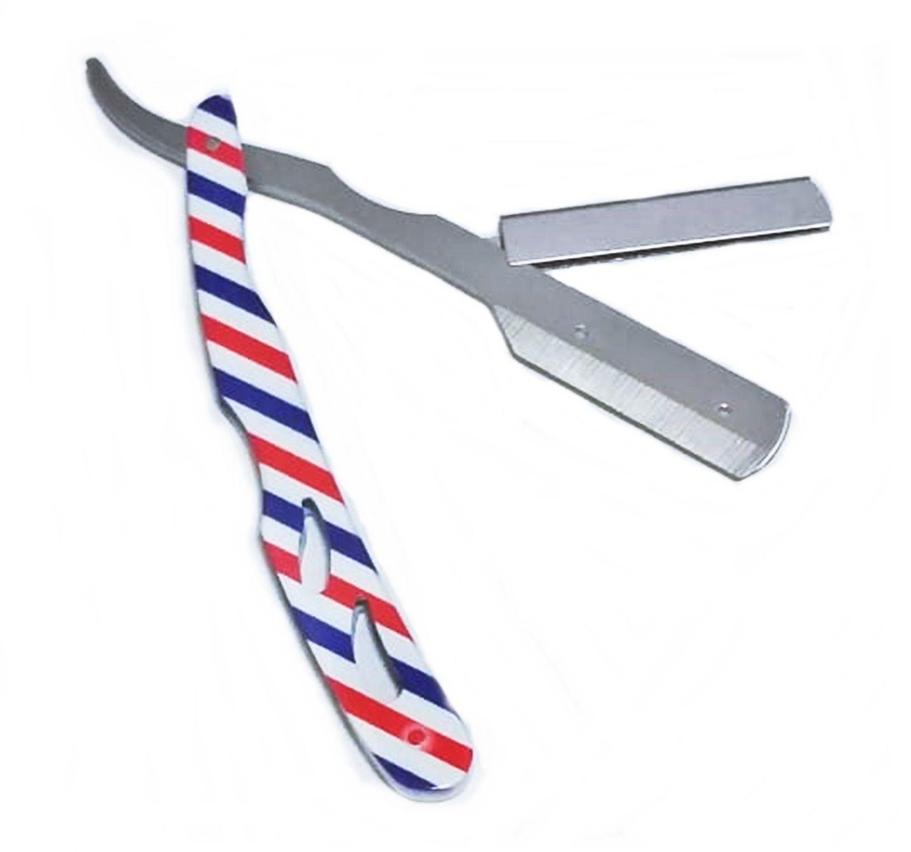 Navalha Navalhete Para Barbear Profissional Barber Pole Roar