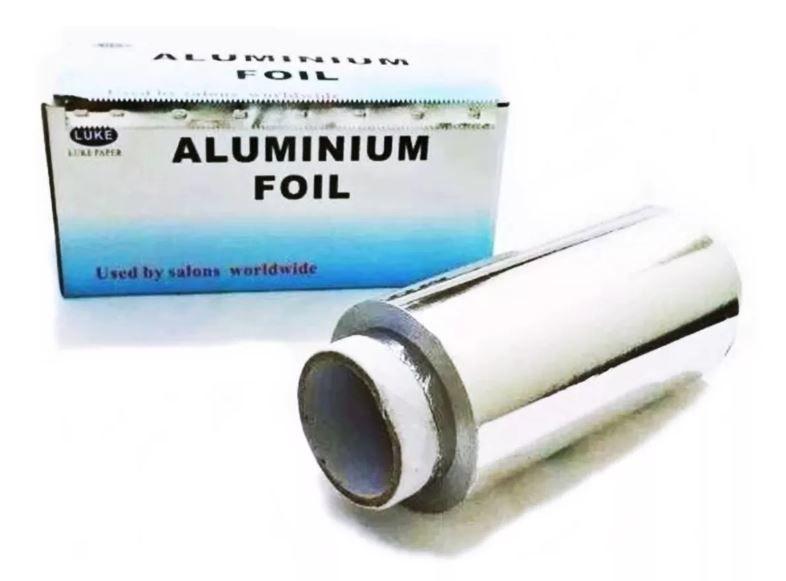 Papel Alumínio Para Mechas Cabeleireiro Profissional 50 Mts