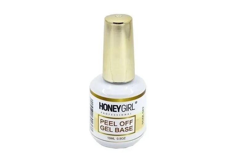 Peel Off Gel Base Soak-off Honey Girl 15ml Unha Gel