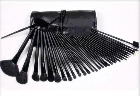 Pincel Maquiagem Profissional Kit C/ 32