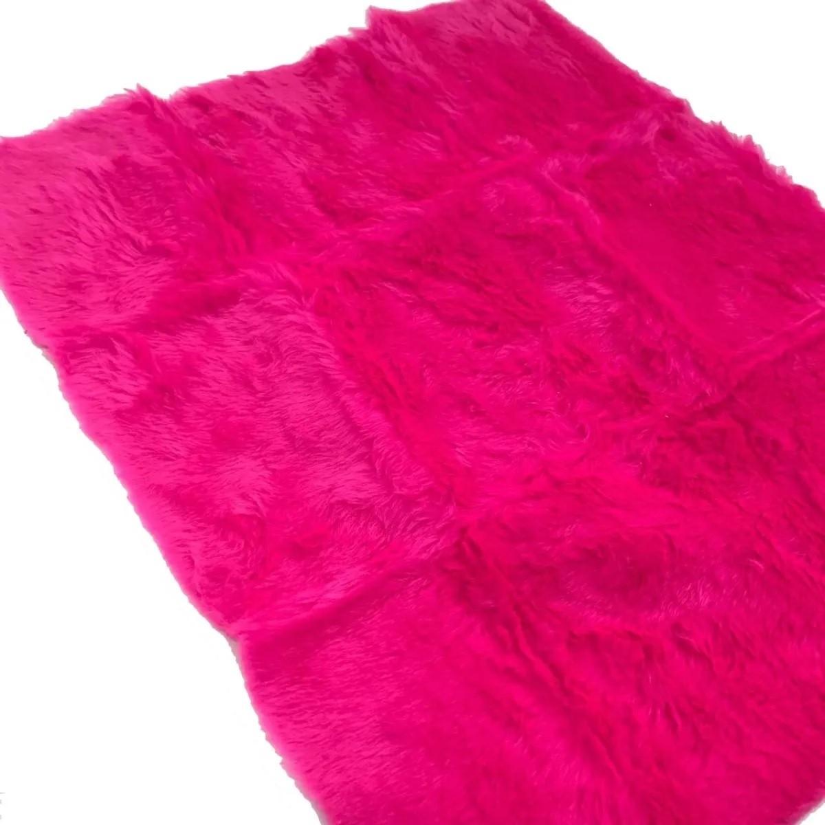 Tapete Pelúcia Fotos Para Unhas Manicure Alongamento Rosa Escuro