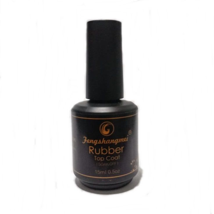 Top Coat Rubber Efeito Matte Unha Gel Acrigel Fengshangmei