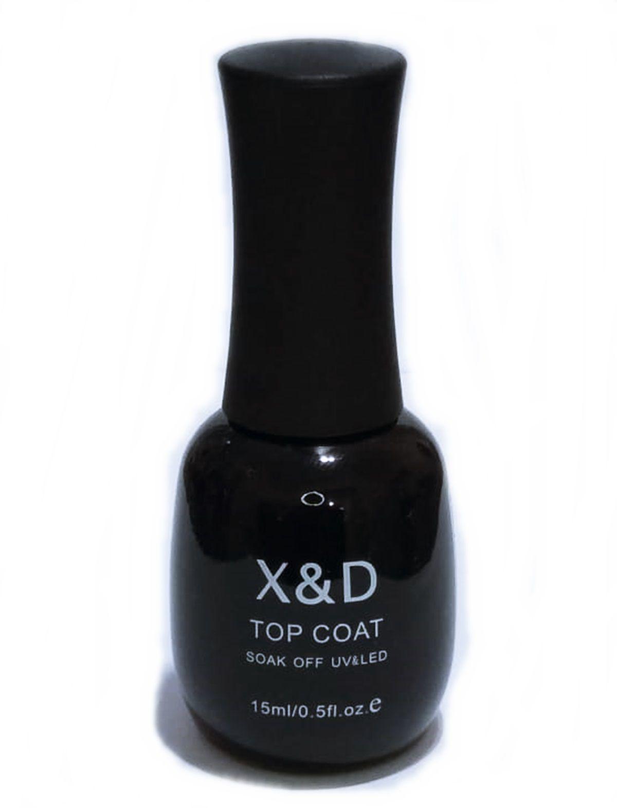 Top Coat Selante Led Uv X&D Unha Gel Acrigel 15ml X & D