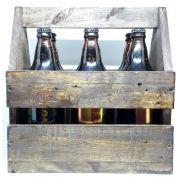 Na Caixa de Madeira com 6 Cervejas Votus  N 010 Pale Lager 600ml