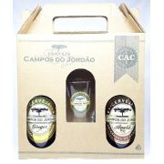 Cervejas Campos do Jordão Ginger + Avelã + Copo Caldereta
