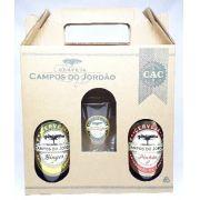 Cervejas Campos do Jordão Pinhão + Ginger +  Copo Caldereta