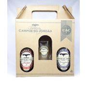 Cervejas Campos do Jordão Pinhão + Weizenbock + Copo Caldereta