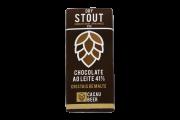 Chocolate Belga Cerveja Stout Cacau Beer 35g em barra