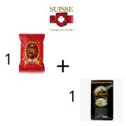 Kit Chocolate cremoso + Chai Indiano Suisse Chocolat