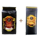 Kit Chocolate Cremoso (pó) + Cappuccino Kaffa Kakaw 1kg