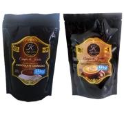 Kit Chocolate Cremoso (pó) + Cappuccino Kaffa kakaw Zero Açúcar