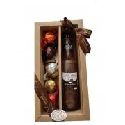 Kit Licor de Chocolate com Rum + 5 trufas sortidas da Spinassi Campos do Jordão