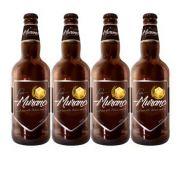 Pack com 4 Cervejas Murano Porter 500ml