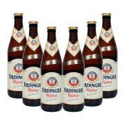 Pack com 6 Cervejas Erdinger Tradicional 500ml