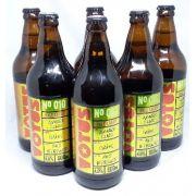 Pack 6 Cervejas Votus  N 010 Pale Lager 600ml
