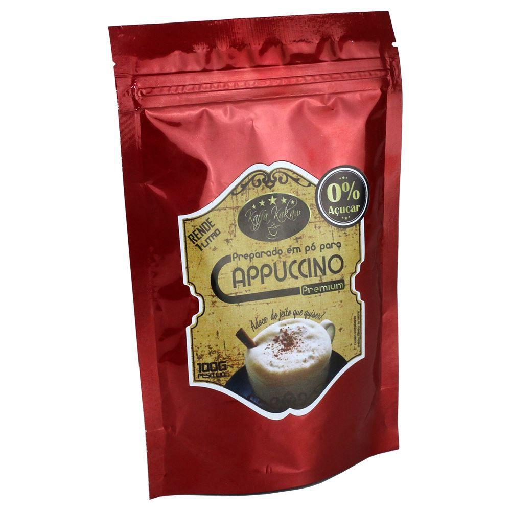Cappuccino Zero Açúcar Premium Kaffa Kakaw Campos do Jordão de 100gr