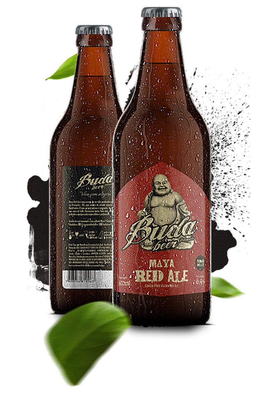 Cerveja Buda Beer Maya Red Ale 600ml