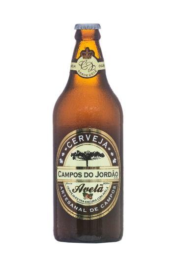 Cerveja Campos do Jordão Avelã 600 ml