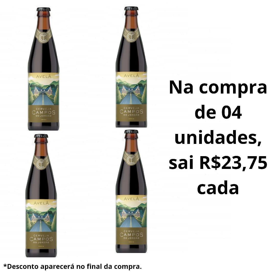 Cerveja Artesanal Campos do Jordão Avelã  500 ml