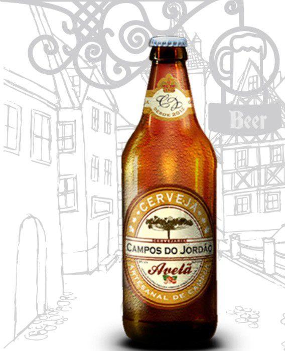 Cerveja Campos do Jordão Avelã (1) na Caixa de Presente