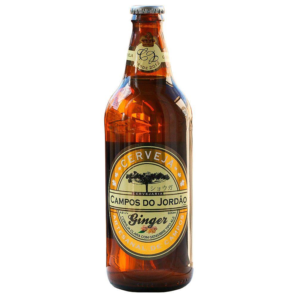 Cerveja Campos do Jordão Ginger 600 ml