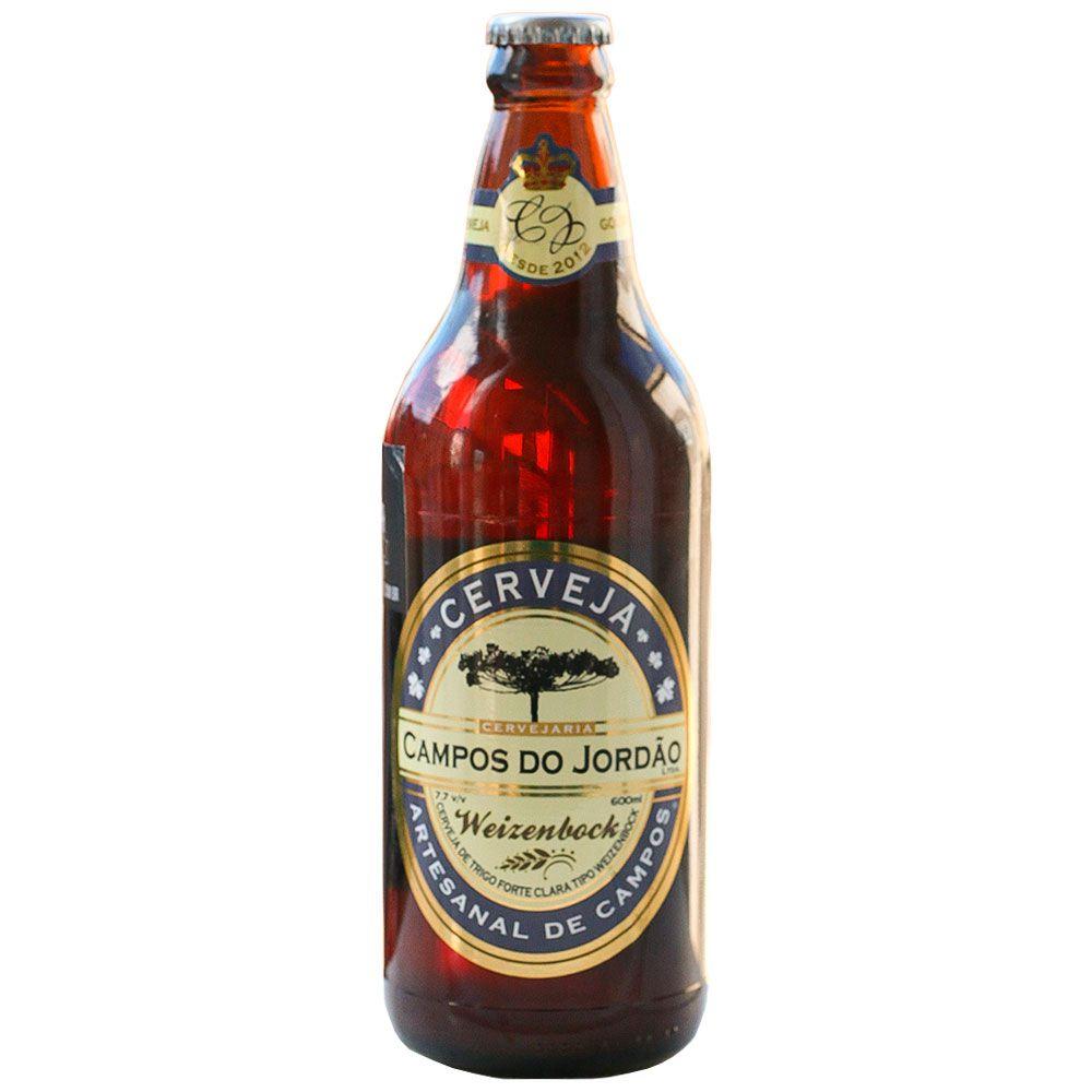 Cerveja Campos do Jordão  Weizenbock 600 ml
