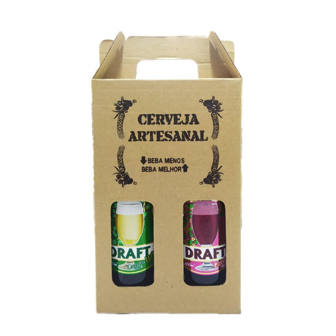 Cerveja Draft Chopp de Vinho Tinto e Branco para presente