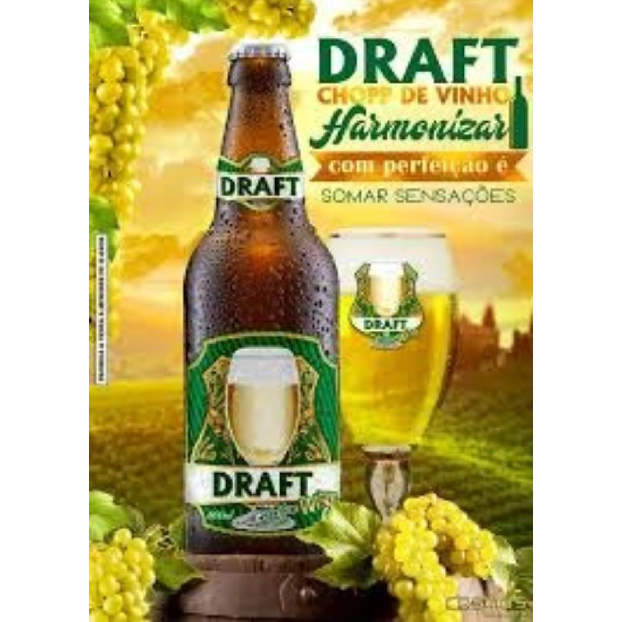 Cerveja Draft Chopp de Vinho White 600ml