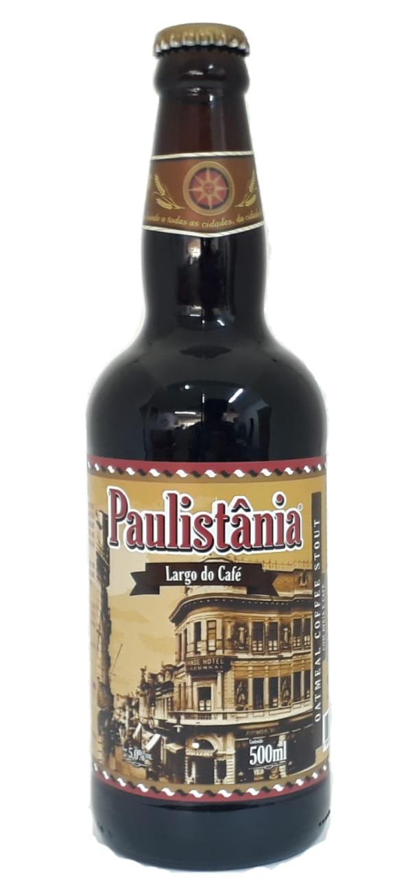 Cerveja Paulistânia Largo do Café 500ML