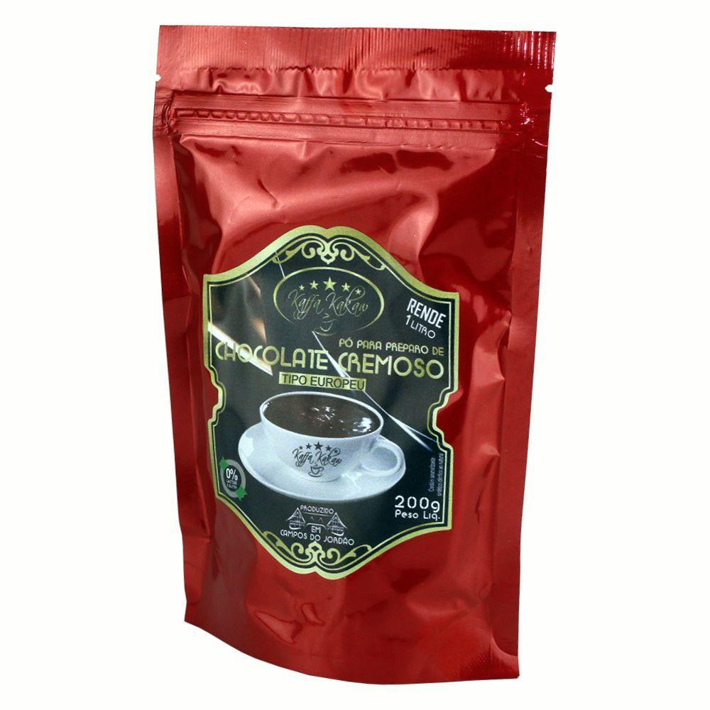 Chocolate (pó) Cremoso - Kaffa Kakaw 200gr (Campos do Jordão)