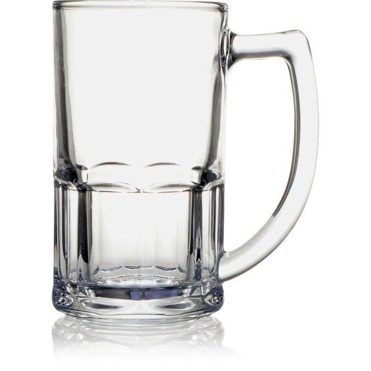 DUAS  Canecas para Chopp e Cerveja de Vidro 565 ml