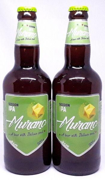 Pack com 2 Cervejas Murano Session IPA  500ml