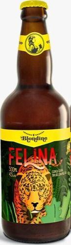 Pack com 6 Cervejas Blondine Felina Pale Ale 500ml