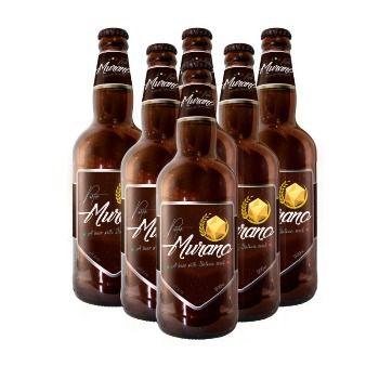 Pack com 6 Cervejas Murano Porter 500ml