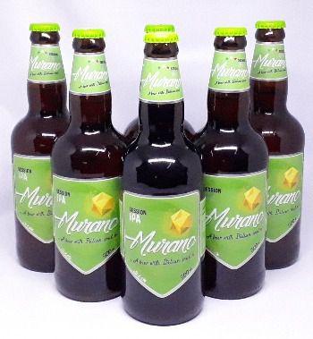 Pack com 6 Cervejas Murano Session IPA  500ml