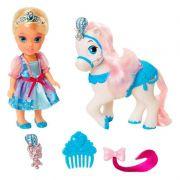 Boneca Princesa Disney Cinderela com Acessórios